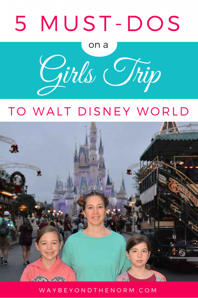 Girls Trip to Disney World pin image