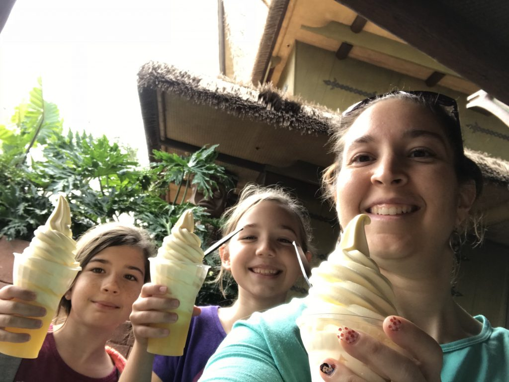 Disney girls trip Dole Whips