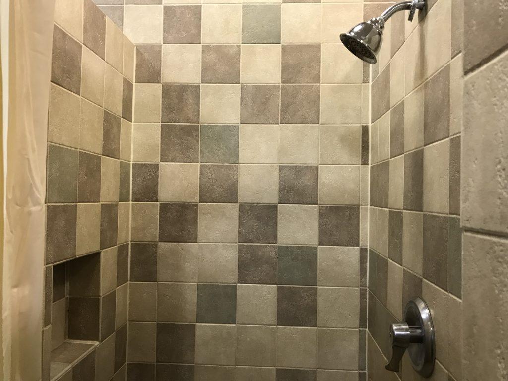 Fort Wilderness comfort station shower