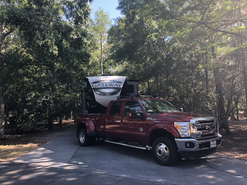 Full hookup campsites at fort wilderness