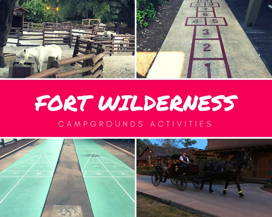 Fort Wilderness Campground Activities