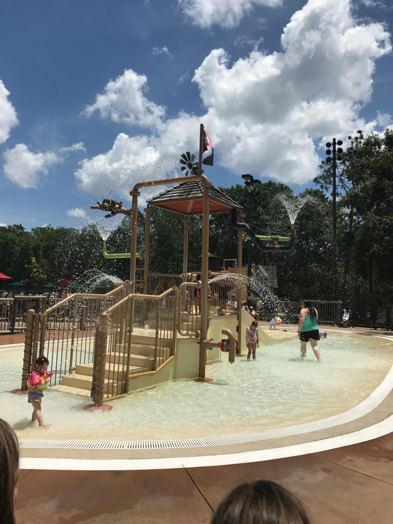 Fort Wilderness Splash Pad