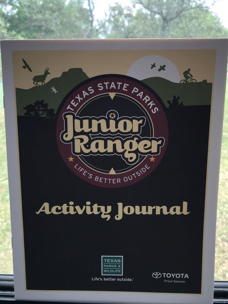 Lake Brownwood Junior Ranger Activity Journal