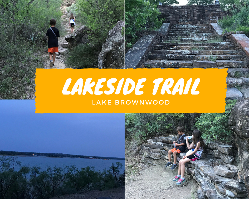 Lake Brownwood Lakeside Trail
