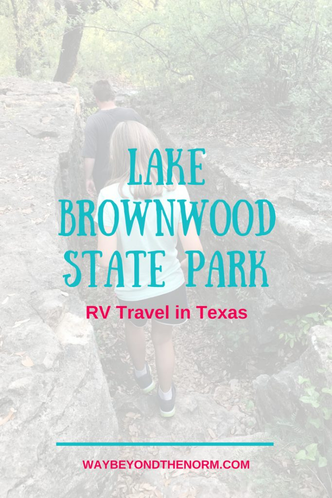 Lake Brownwood State Park RV Travel in Texas