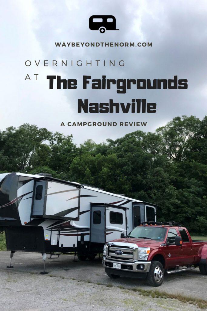 Overnighting at Fairgrounds Nashville