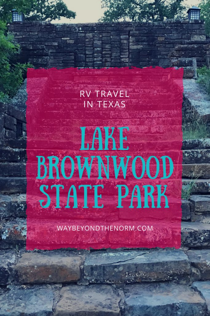 RV Travel Texas Lake Brownwood State Park