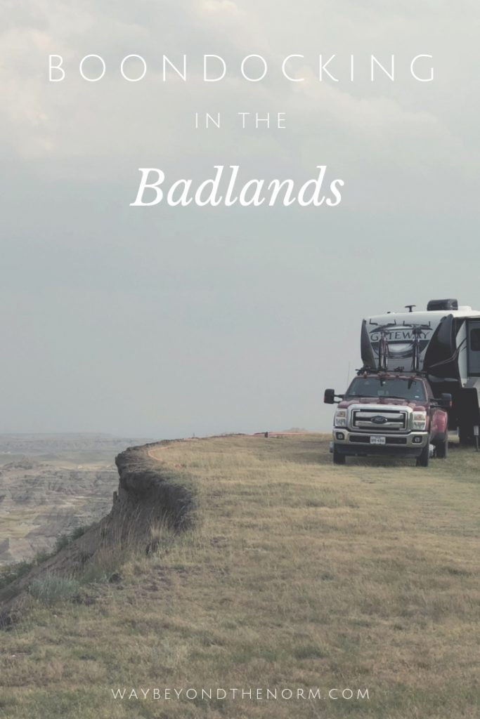 Badlands Boondocking