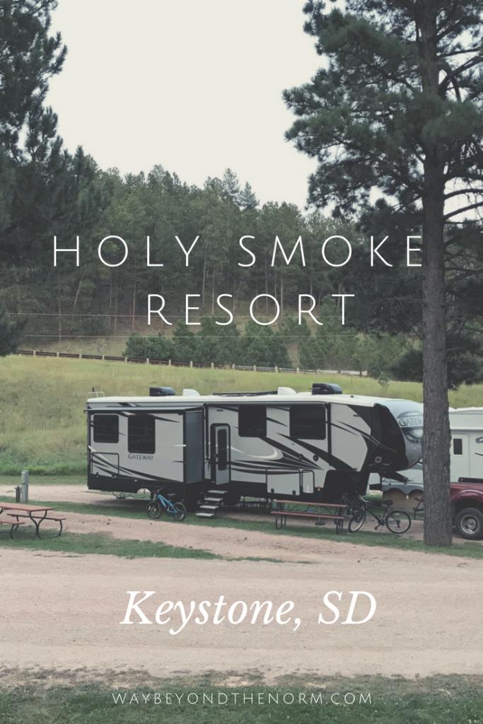 Holy Smoke Resort pin image
