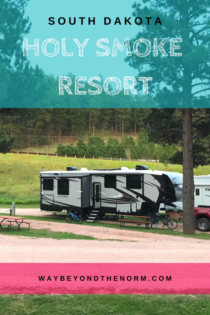 If you are looking for a convenient, small RV park to stop at for a few nights while you visit Mount Rushmore and Custer State Park, this might be an RV park you'd like to consider. Located in Keystone, SD, it's convenient to many of the local attractions. #SouthDakotaCamping #KeystoneSouthDakota #RVPark #WayBeyondTheNorm