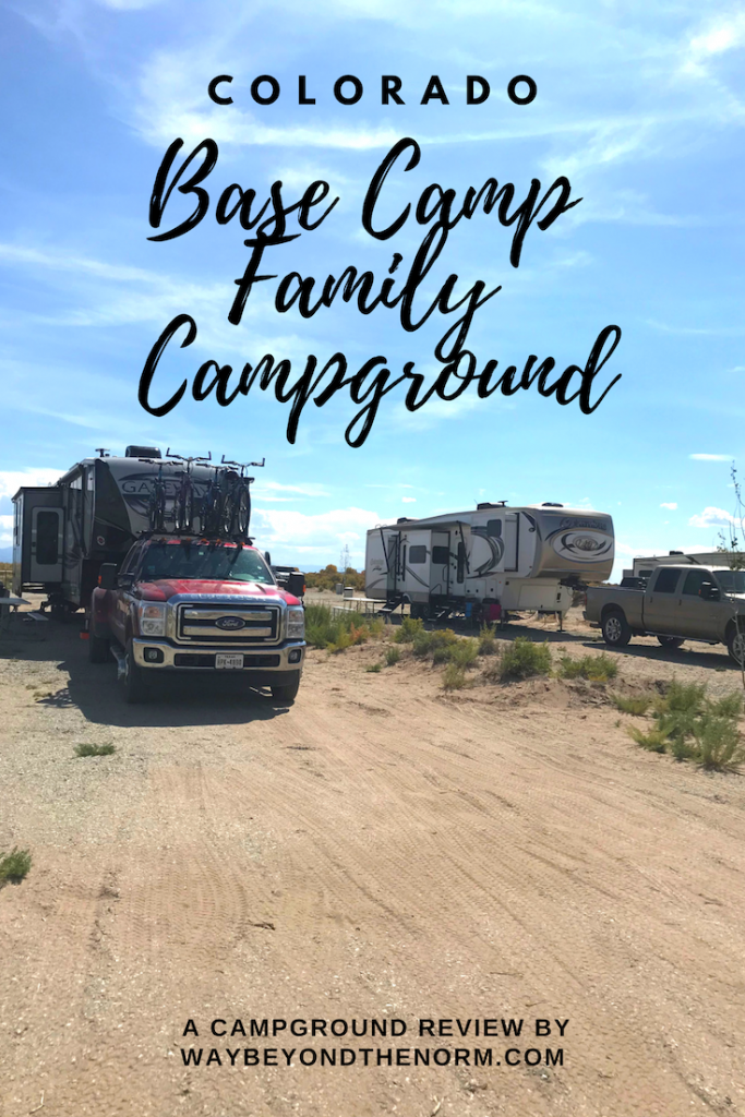 Travel Colorado Base Camp Family Campground Way Beyond