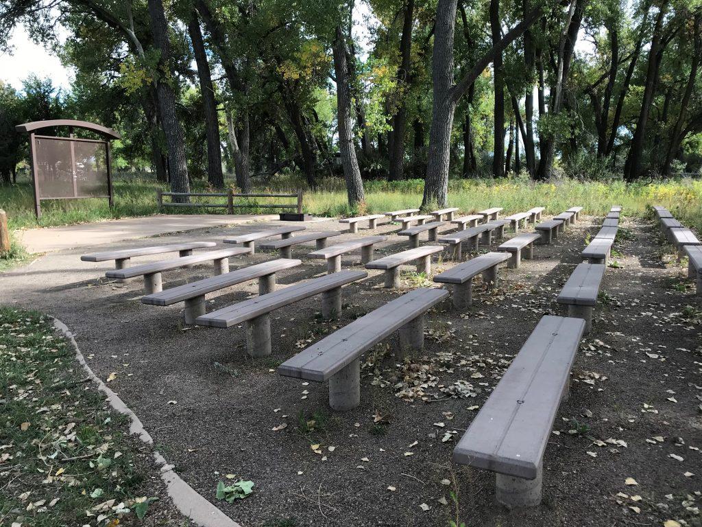 Cherry Creek State Park amphitheater