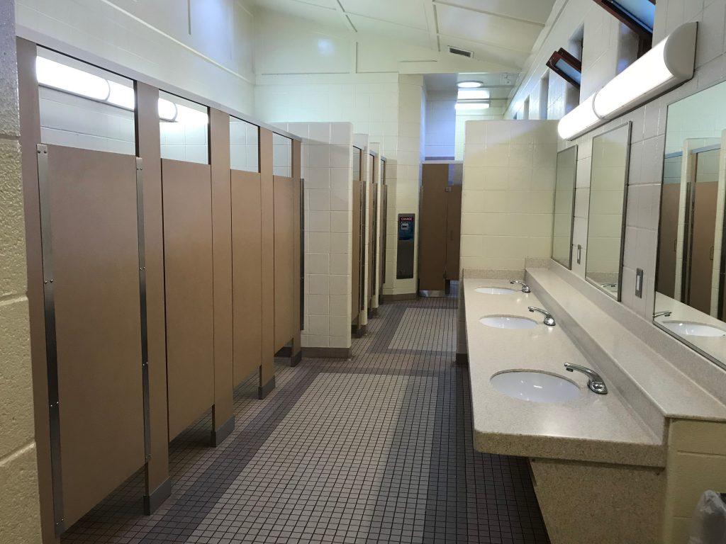 Cherry Creek State Park comfort station