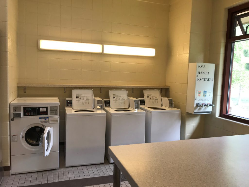 Cherry Creek State Park laundry facility