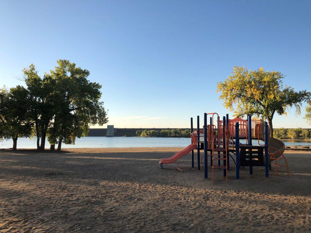 Cherry Creek State Park playground