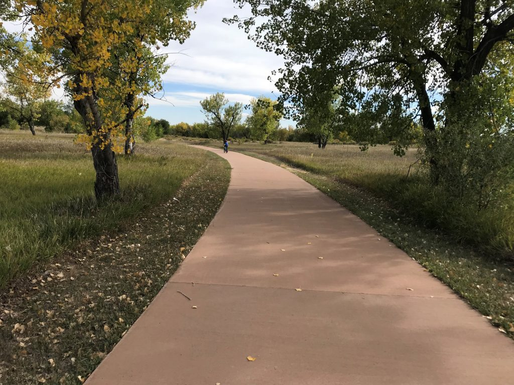 Cherry Creek State Park trails
