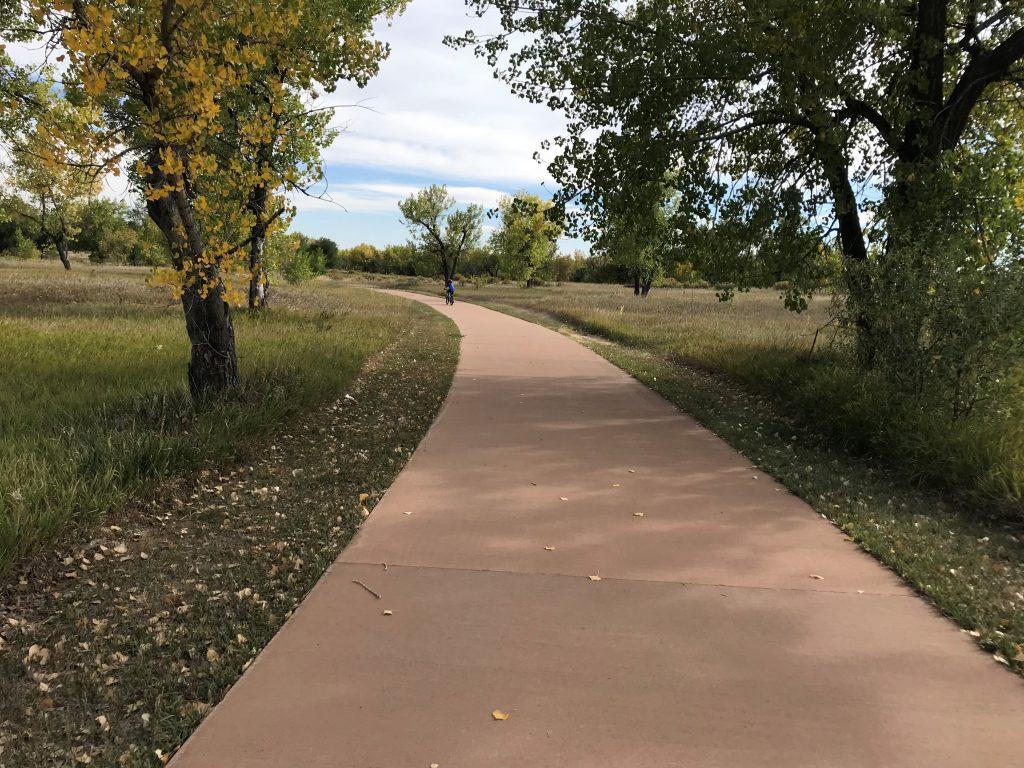 Cherry Creek State Park trails