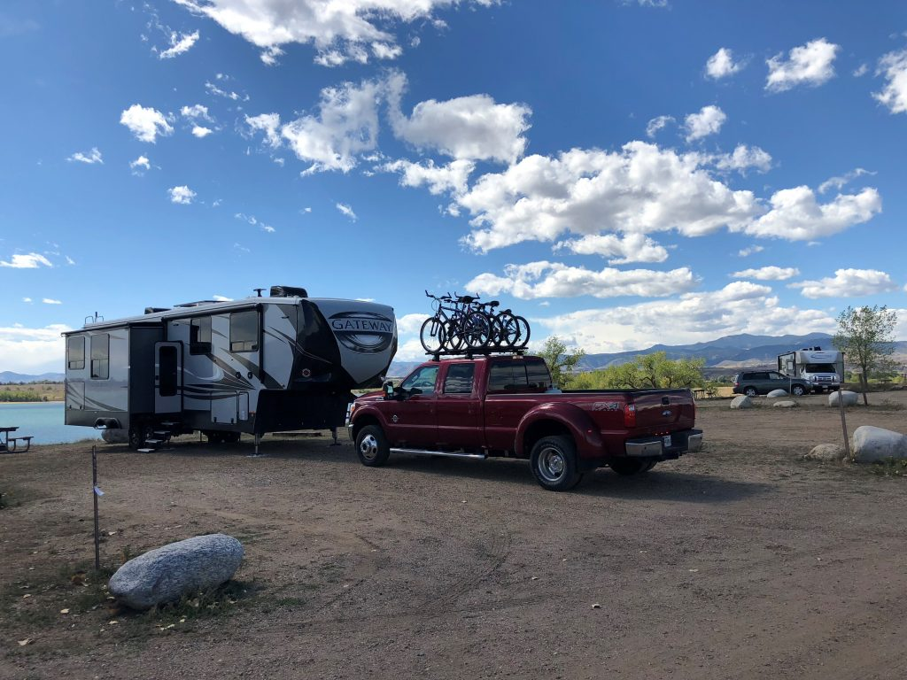 Standley Lake Regional Park campsite