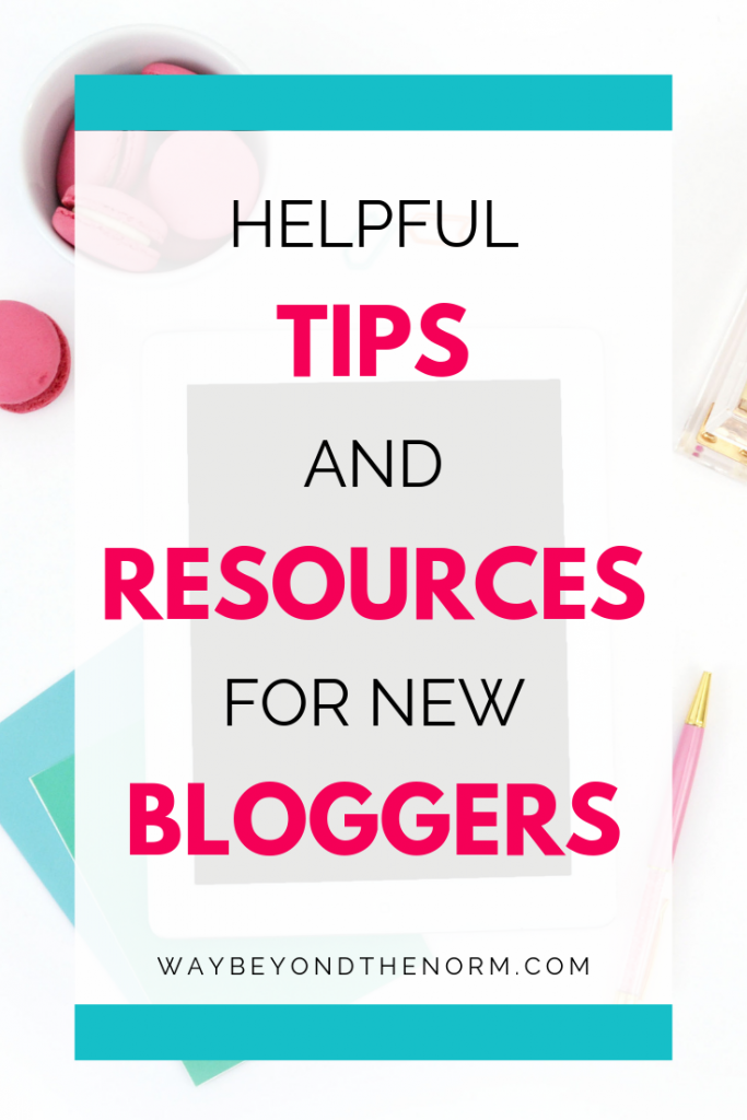 It's our one year blogiversary! Read our post on lessons learned in the first year and our helpful tips and resources for new or aspiring bloggers. #bloggingtips #bloggingresources #newbloggertips #blogiversary #waybeyondthenorm