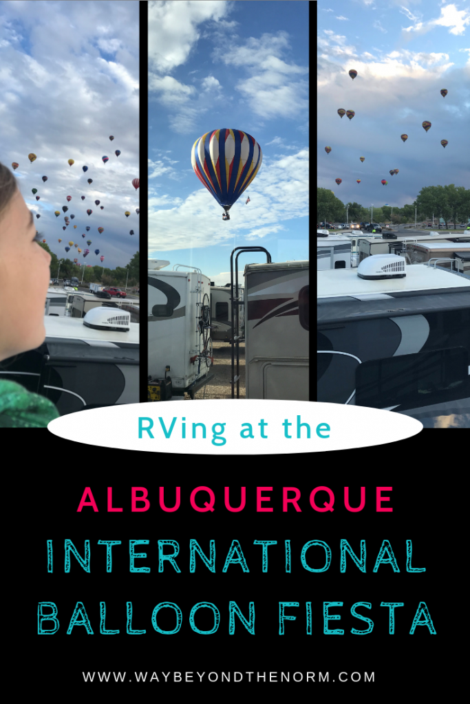 RVing at the Albuquerque International Balloon Fiesta