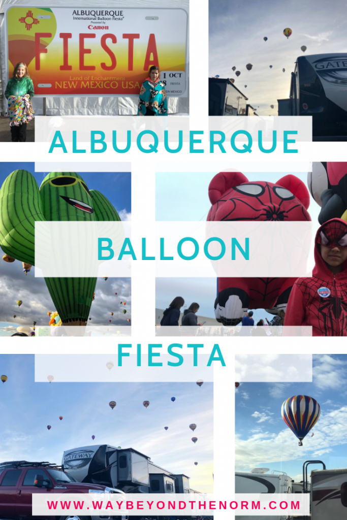 Calling all travel families! The Albuquerque International Balloon Fiesta is an event you don't want to miss! #TravelWithKids #Balloon Fiesta #TravelNewMexico #Albuquerque #WayBeyondTheNorm