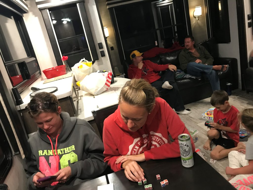 Game night with friends