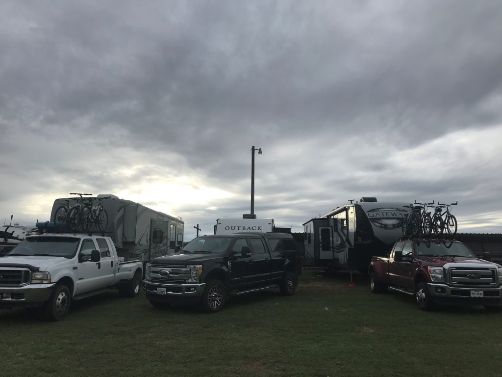 our campsite at NomadFEST