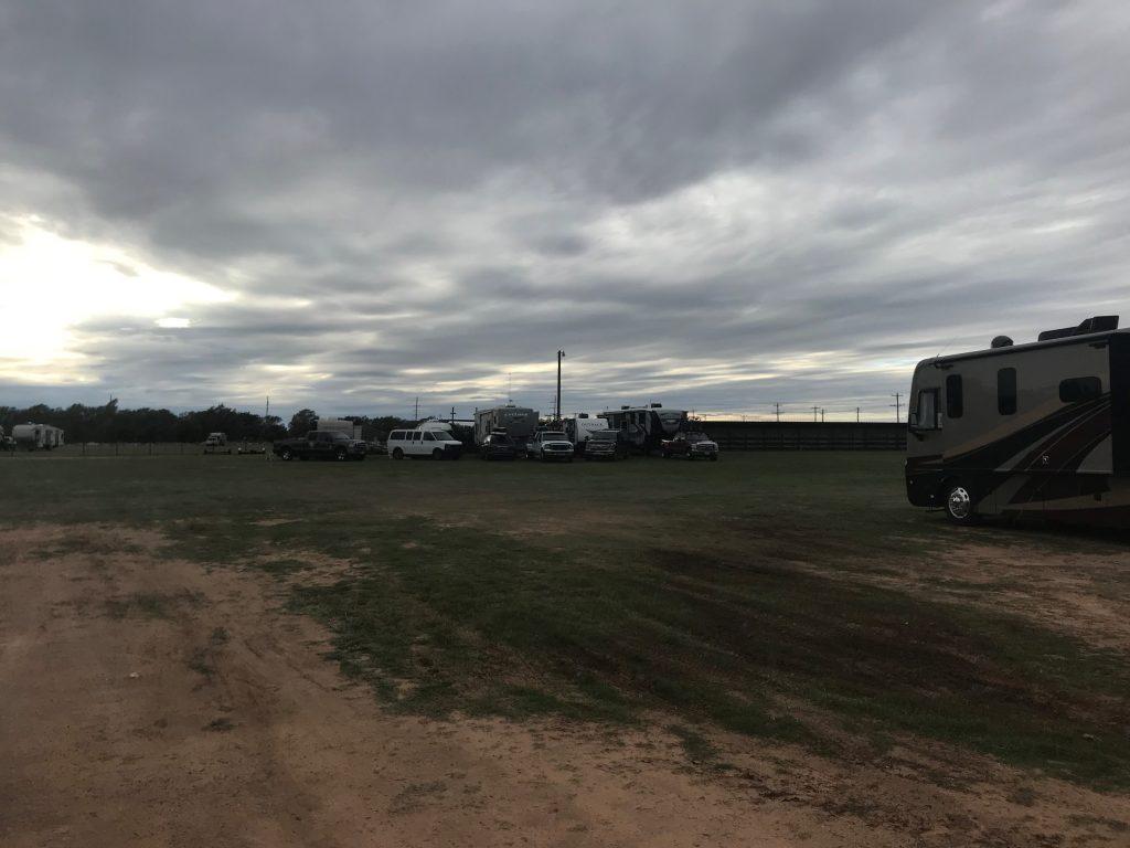 muddy Wellington Fairgrounds