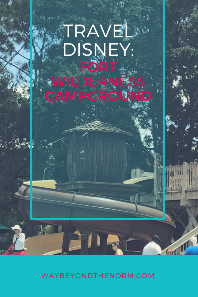 Heading off to Florida in your RV? You won't want to miss this amazing campground located right on Walt Disney World property. Read our review of Fort Wilderness Campground and then grab your FREE Campground Info Sheet for all of your future RVing adventures. #DisneyCamping #FloridaCamping #rving #WayBeyondTheNorm