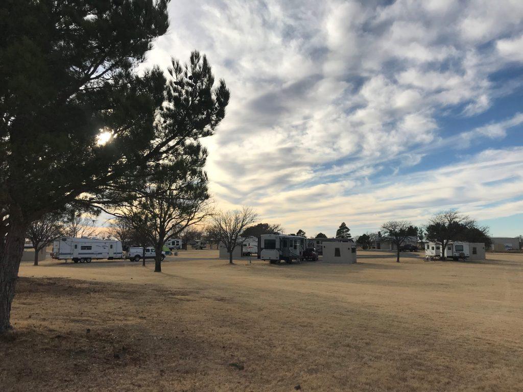 Harry McAdams State Park campground