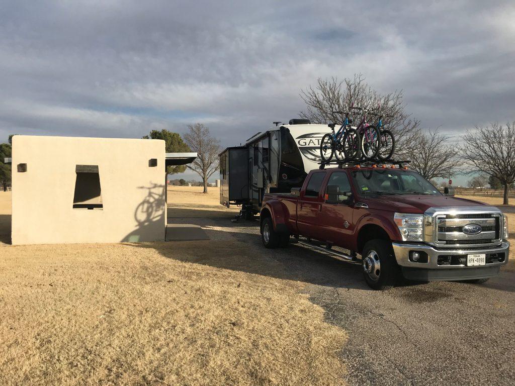 Harry McAdams State Park campsite