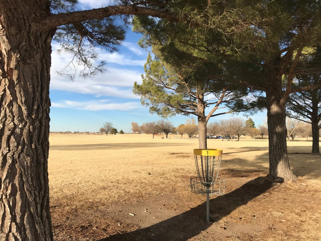 disc golf at Harry McAdams State Park