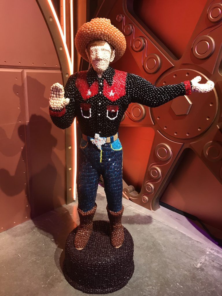 Big Tex at Candytopia