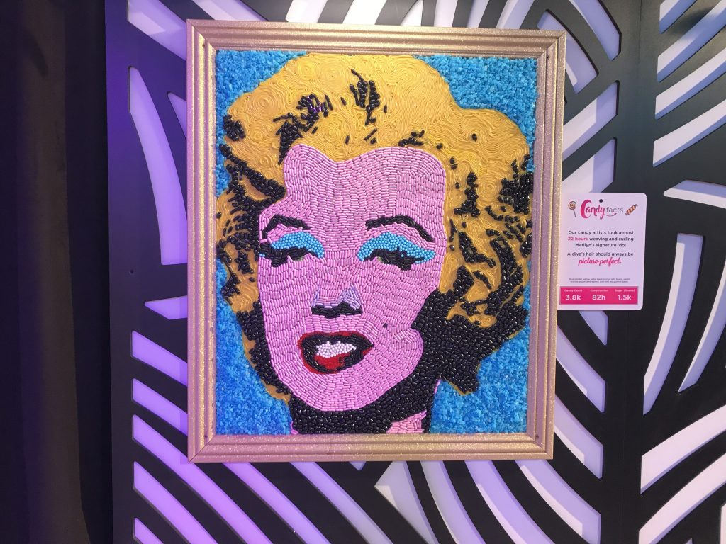 Candytopia Marilyn Monroe