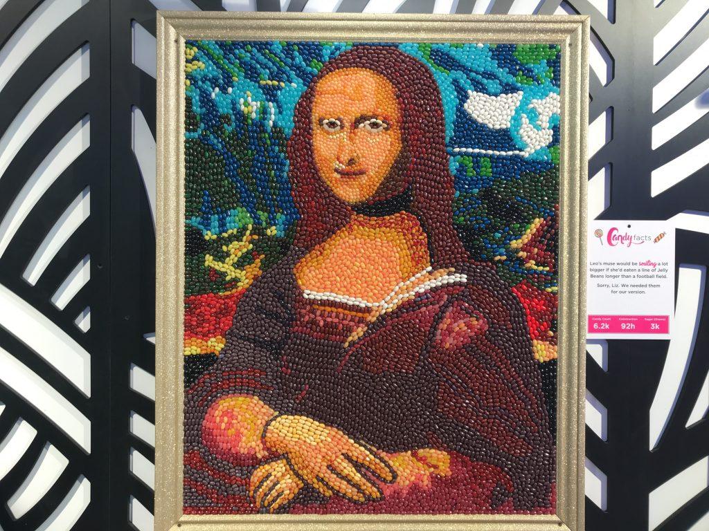 Candytopia Mona Lisa