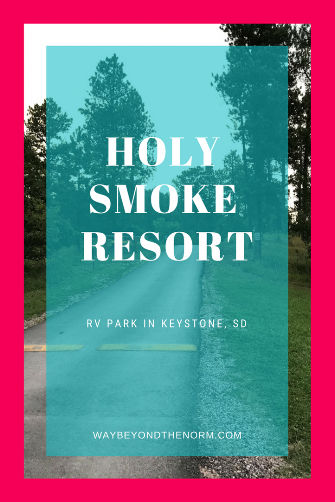 Holy Smoke Resort pin image