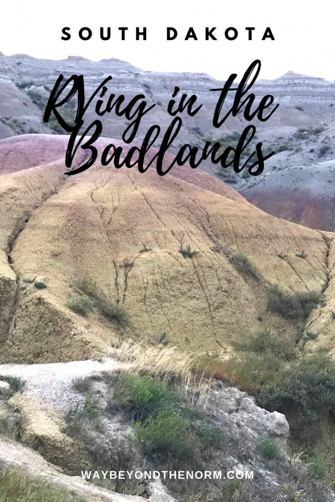 badlands boondocking pin image