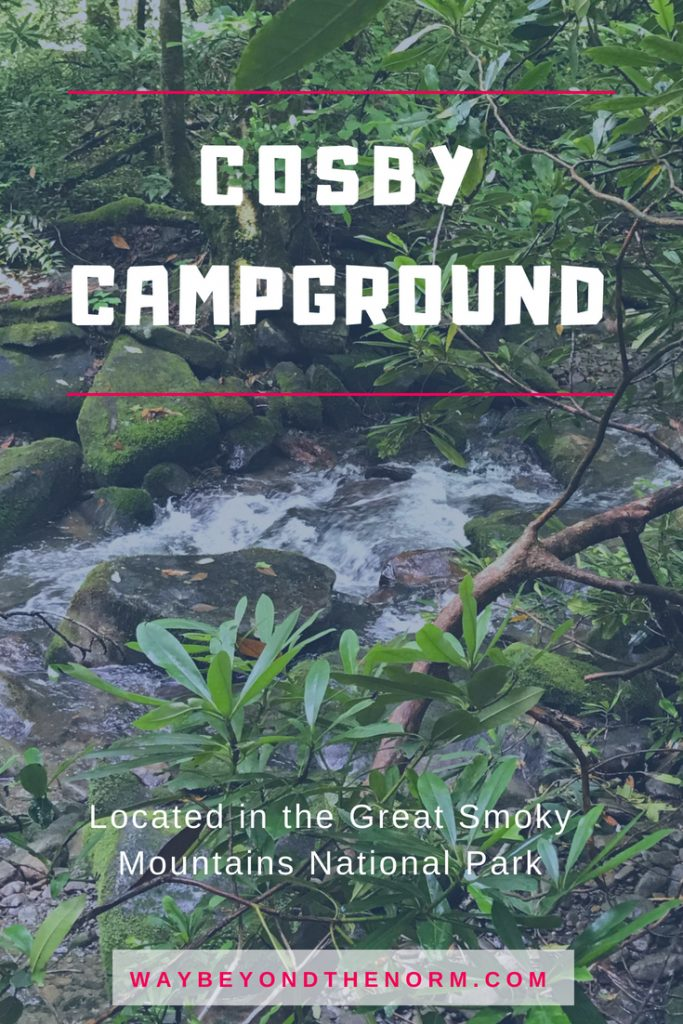 Cosby Campground pin image
