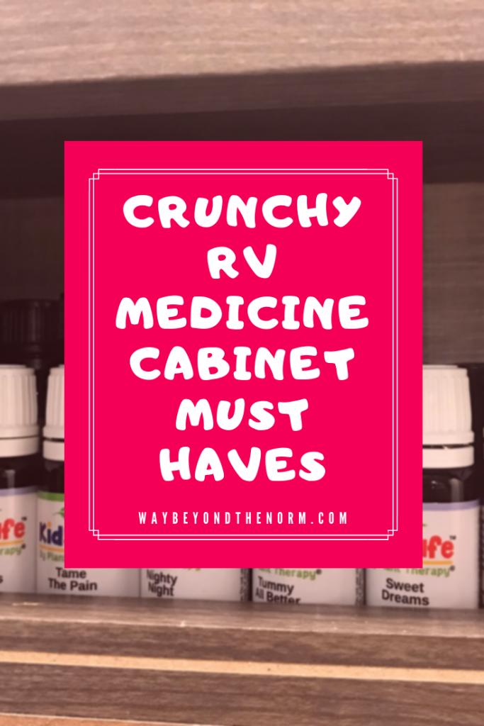 Crunchy RV Medicine Cabinet pin image