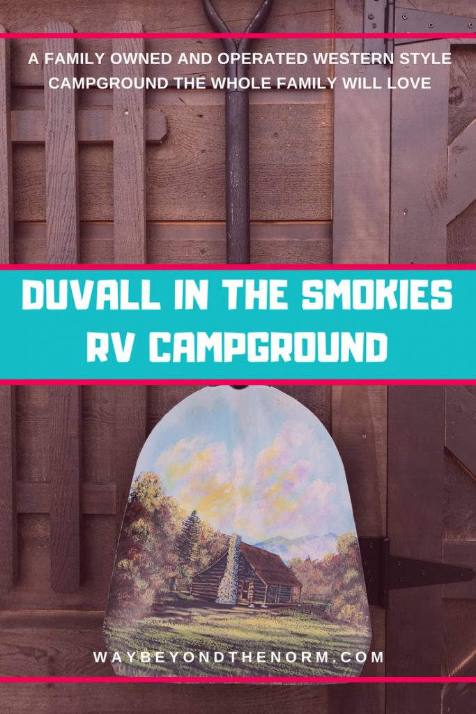 Duvall in the Smokies RV Campground pin image
