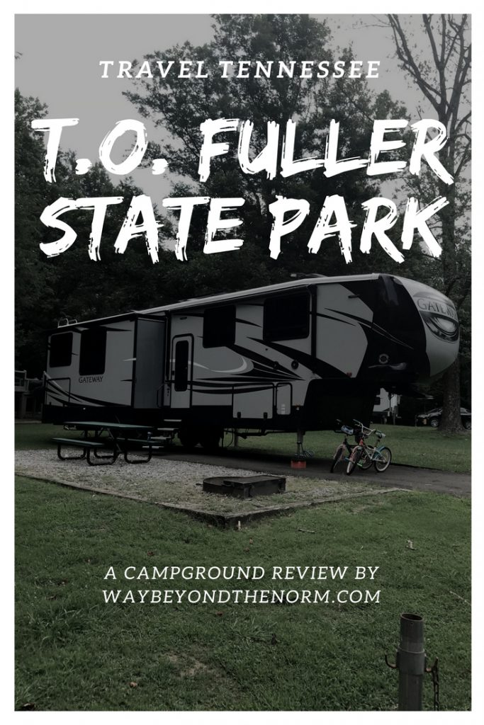 T.O. Fuller State Park pin image
