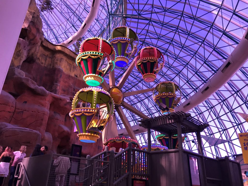 Rides at Adventuredome