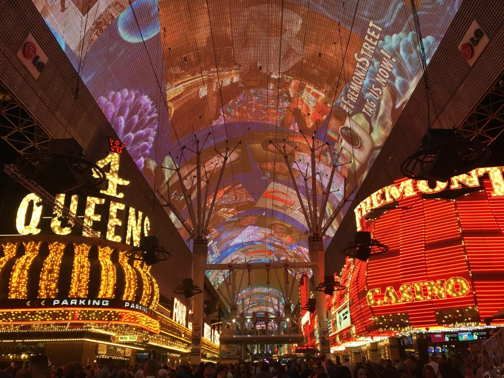Viva Vision on Fremont Street in Las Vegas