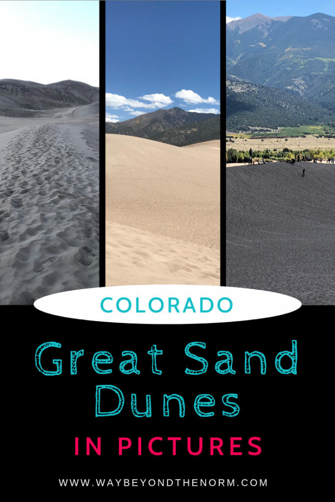 Great sand dunes in pictures
