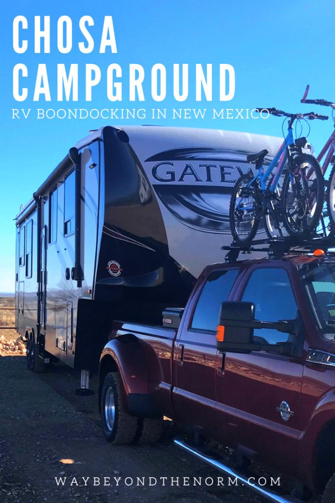 Chosa Campground pin image