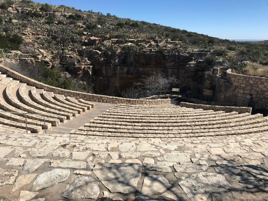 Amphitheater at Carlsbad Caverns