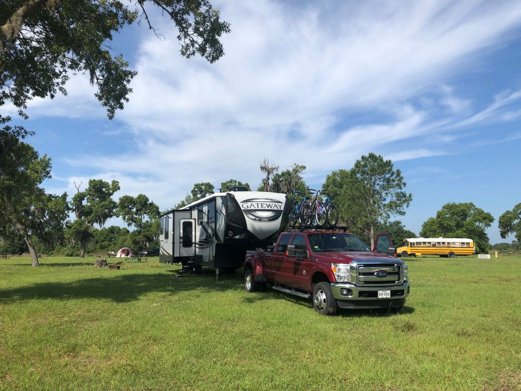 Overnight RV Parking in Florida