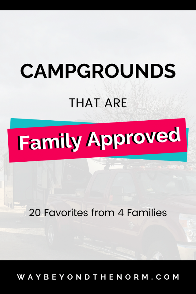 Top 5 campgrounds 2019 pin image