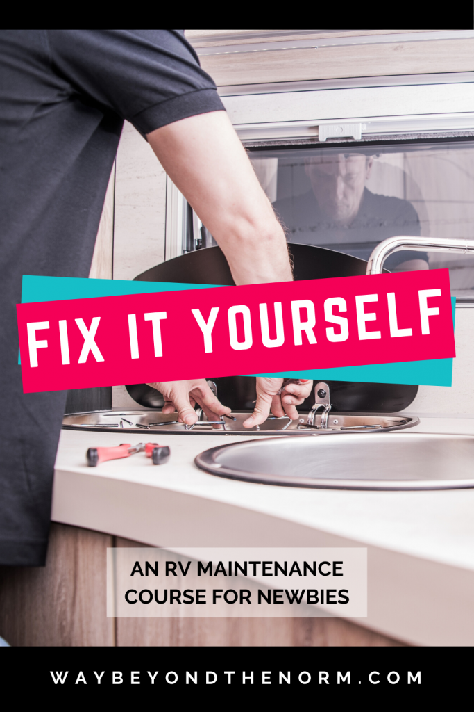 RV Maintenance Fit It Yourself pin image