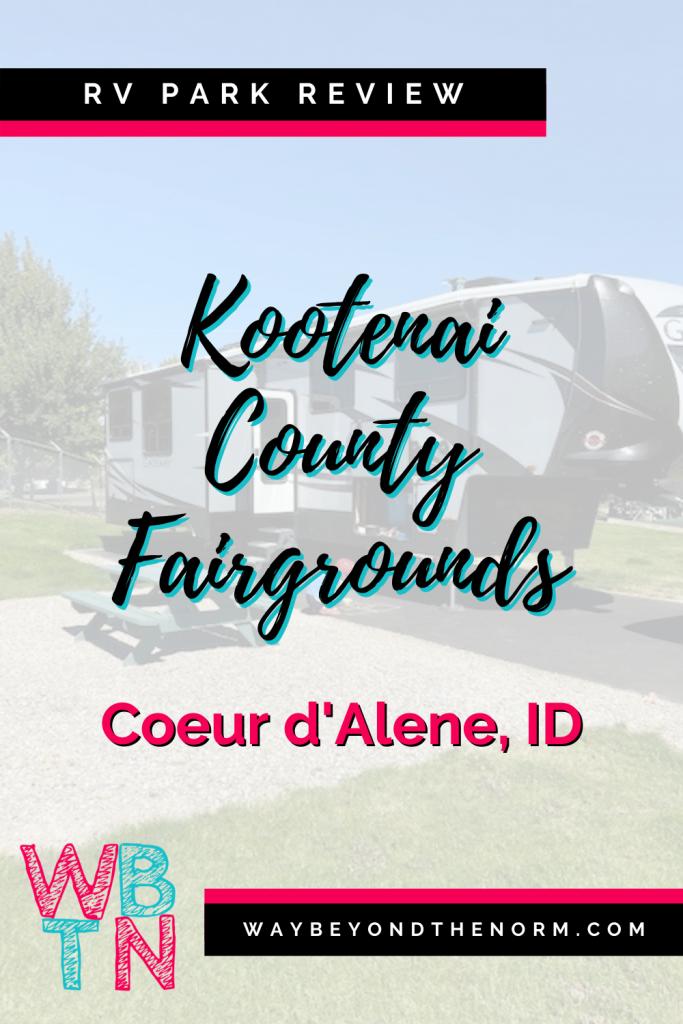 Kootenai County Fairgrounds RV Park pin image